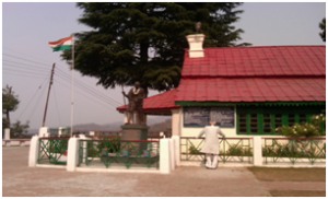 Anasakti Ashram in Kausani Two. Southlit July 2014