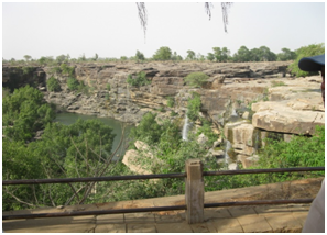 Tanda Water Falls in Mirzapur. Southlit July 2014