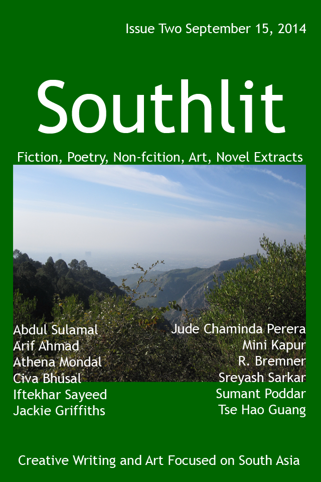 Southlit September 2014. Picture: Marghala Hills. Picture by Dave Hopkins. Cover Design by Graham Lawrence. Copyright Southlit, Graham Lawrence and photographer