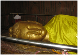 Statue of Lord Buddha. Southlit July 2014